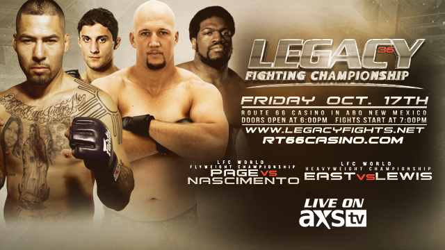Legacy FC 36 Quick Results